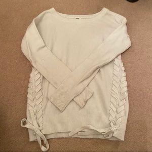 2 for $20 💌 Garage Women's White Sweater
